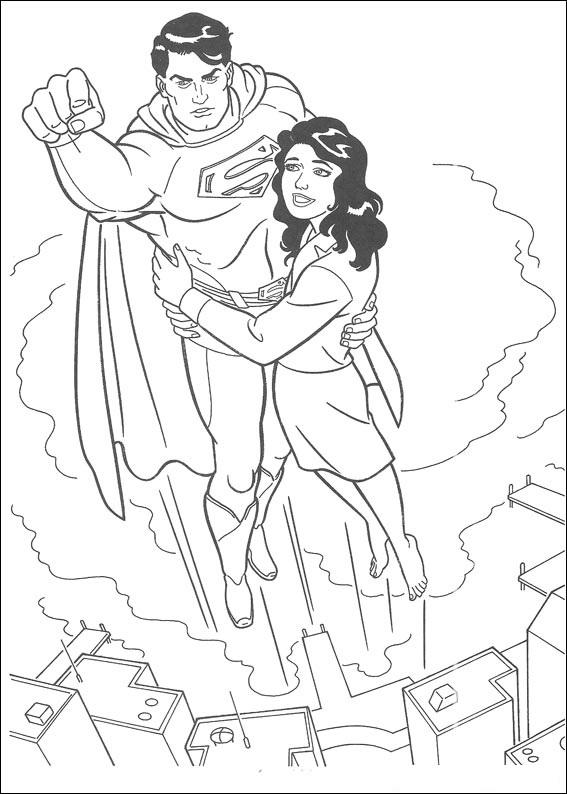 Omalovánky superman supermamina cz portál pro všechny