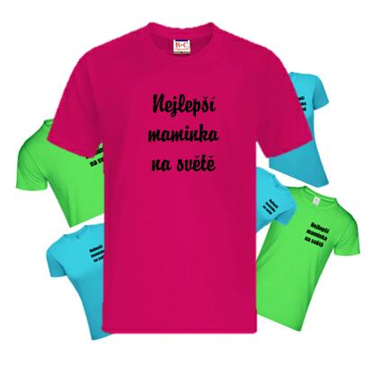 Skvělá trička s potiskem pro maminky - SuperMamina.cz - portál pro ... dc155f5df6