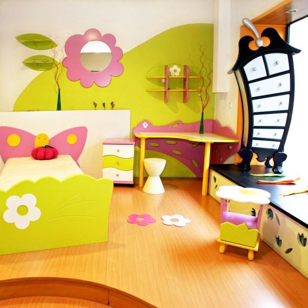Barvy v dětském pokoji