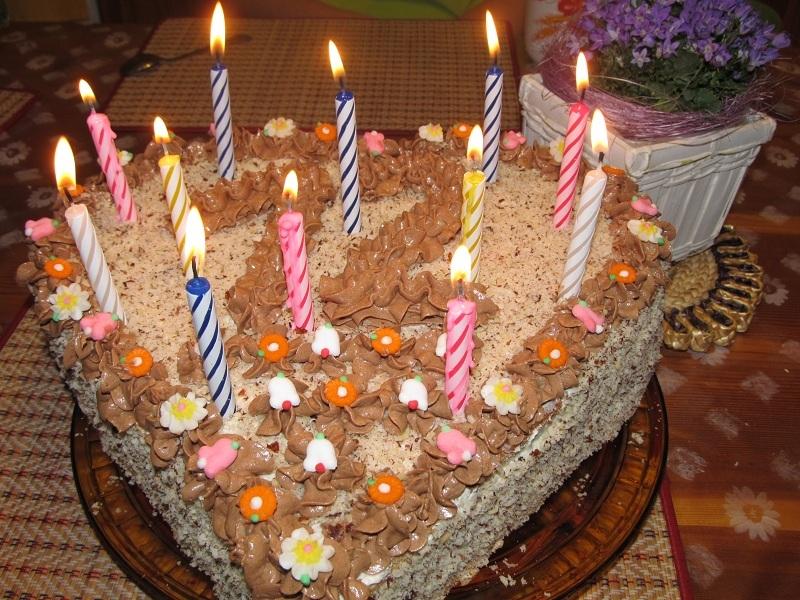 Maminčin dort pro Kačenku
