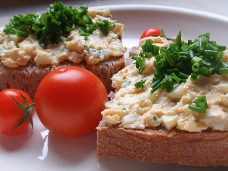 Masová pomazánka s vejci