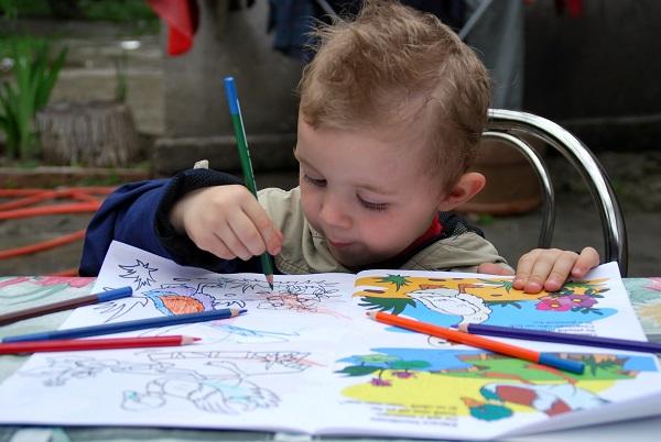 Omalovánky pro děti a vliv na ně
