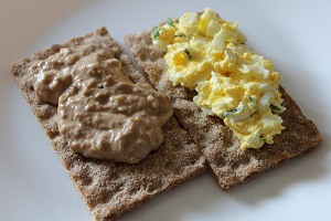 Pomazánky – vajíčková podle Dity P. a tuňáková